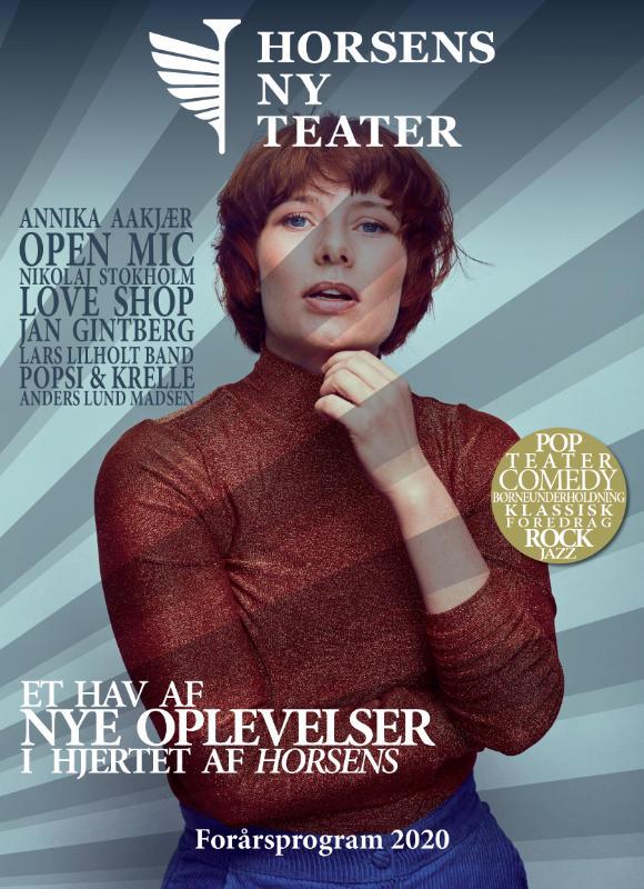Horsens ny teater forårsprogram 2020
